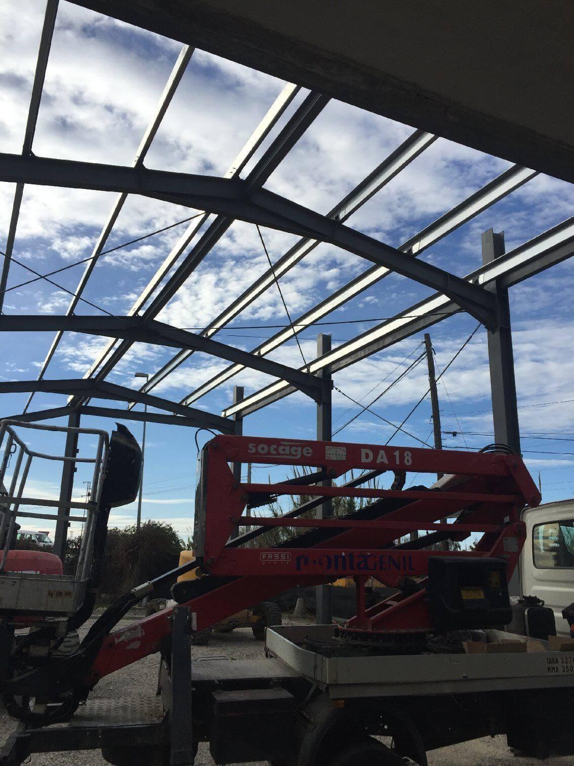 montaje estructuras metalicas industrial