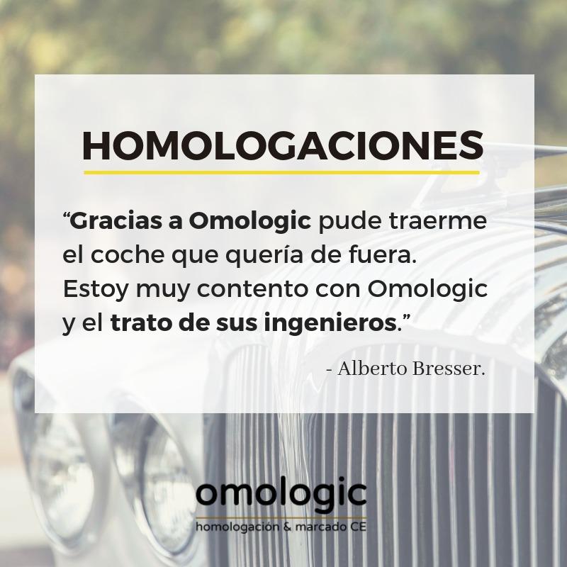 OPINIONES HOMOLOGACIONES OMOLOGIC