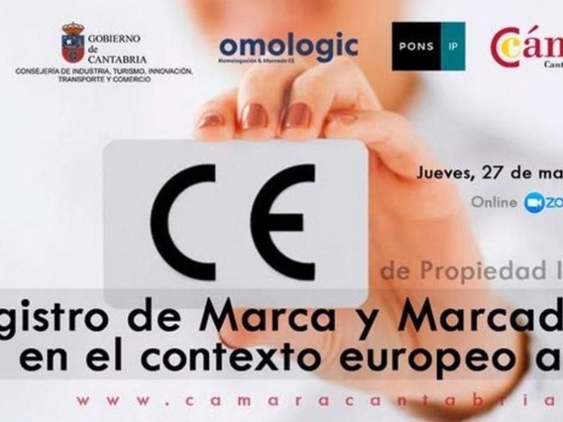 OMOLOGIC COLABORA CON LA CÁMARA DE COMERCIO DE CANTABRIA EN LA WEBINAR SOBRE MARCADO CE