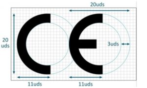 placa marcado CE